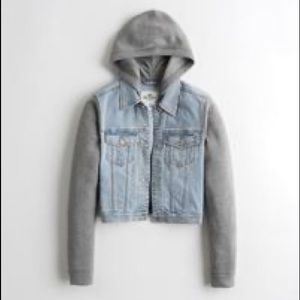 Holistic Hooded Denim Jacket